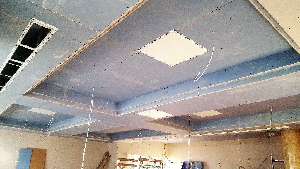 Ceiling  work  in London